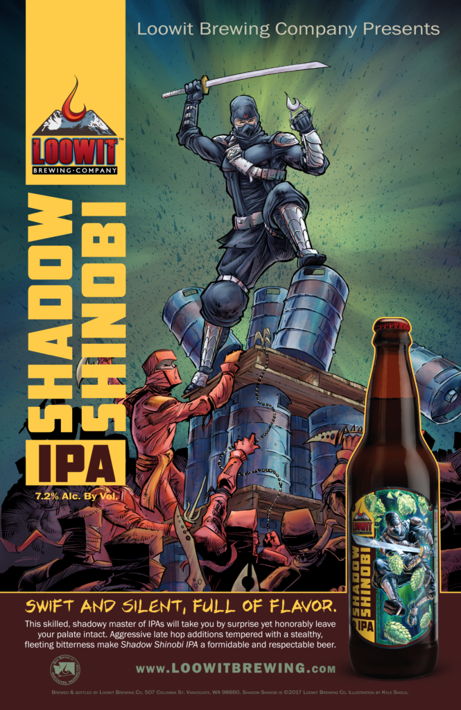 Loowit Brewing Company Shadow Shinobi IPA - All-Grain Version