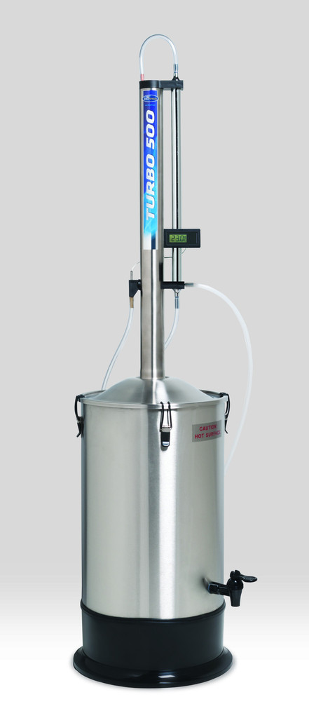 Still Spirit Turbo 500 Reflux Column Still Bader Beer